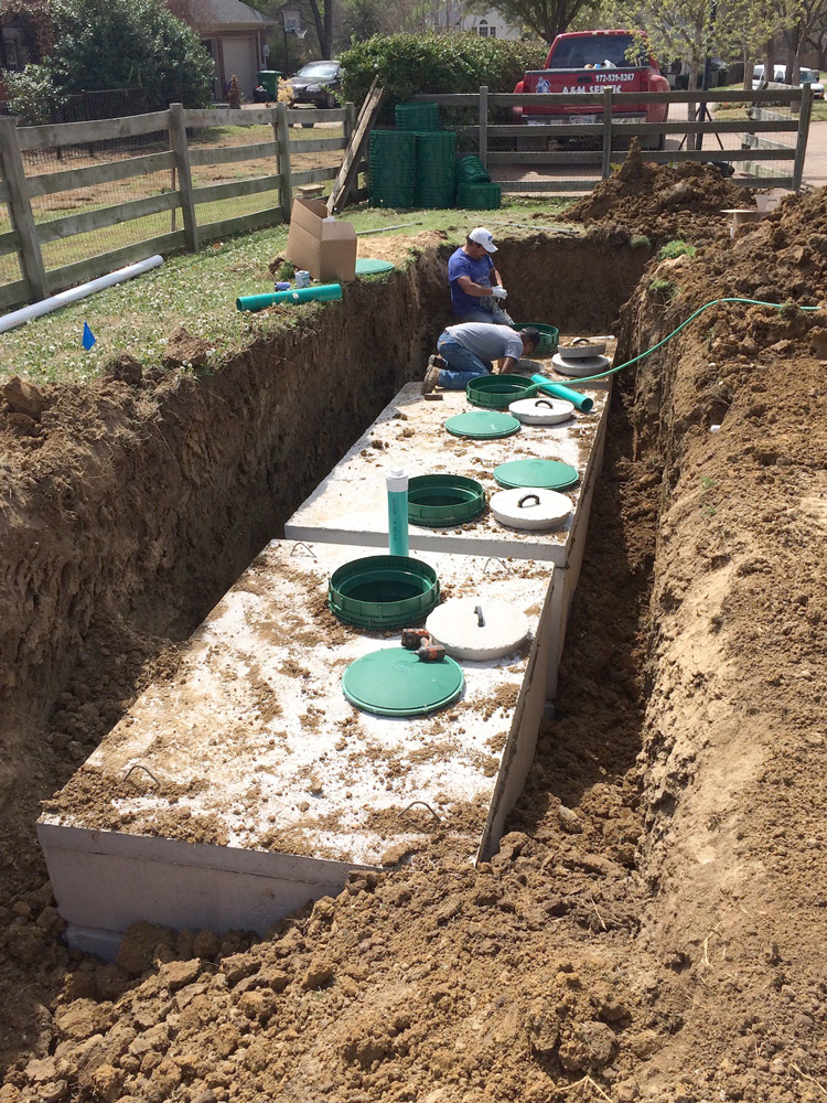 Aerobic System Installation by A&M Septic