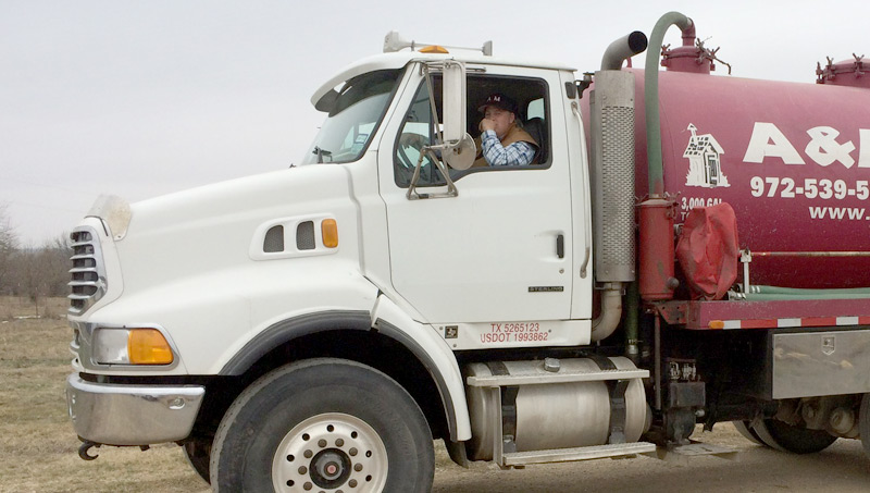 Sterling Pump Truck by A&M Septic